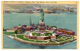 Statue Of Liberty On Bedloe's Island In New York Harbor, New York City (oblitération ) - Statue De La Liberté