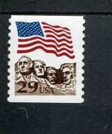 207620012 USA 1991 ** MNH SCOTT  2523a  Flag Over Mt Rushmore - United States