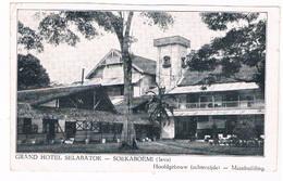 ASIA-1085   SOEKABOEMI : Grand Hotel Selabatoe- Hoofdgebouw Achterzijde - Indonesia