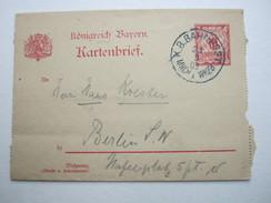 1905 , Antwortganzsache Aus Wien  Nach  München ,