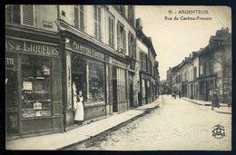Cpa Du 95  Argenteuil Rue Du Carême Prenant  NCL50 - Argenteuil