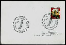 903-ITALY World Basketball Championship Junior-Basketball-Weltmeisterschaft Junior BORMIO 1987