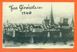 """CPA Pithiviers """" Vue Générale En 1540 """" LJCP 34 - Pithiviers"""