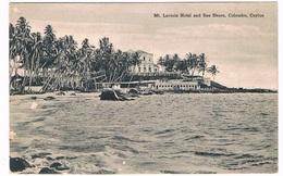 ASIA-1093   COLOMBO : Mt. Lavinia Hotel And Sea Shore - Sri Lanka (Ceylon)