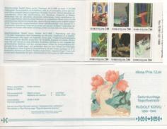 """Finnland 1990 MH 26 """"Rudolf Koivu"""", Postfrisch; Booklet MNH - Finland"""