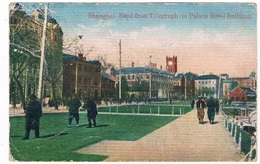 ASIA-1094   SHANGHAI : Bund From Telegraph To Palace Hotel Building - Chine