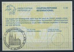 GIBRALTAR  La26 International Reply Coupon Reponse Antwortschein IAS IRC  O PHILATELIA 1993 KÖLN Stamp Exhibition