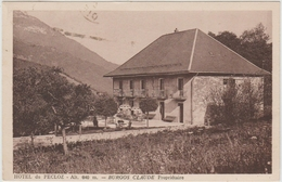 HOTEL DU PECLOZ (73) - BURGOS CLAUDE PROPRIETAIRE - Autres Communes