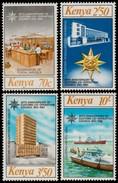 ~~~ Kenya 1983 - Customs & Postal Services - Mi. 259/262 ** MNH  ~~~ - Kenia (1963-...)
