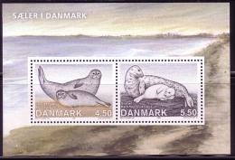 DÄNEMARK BLOCK 26 ** ROBBEN IN DÄNEMARK 2005