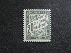 TB Taxe N°31 , Neuf X . Cote = 7,60 Euros.