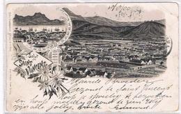 STVIN-1   SAINT VINCENT : Salut De ( Litho) - Cape Verde