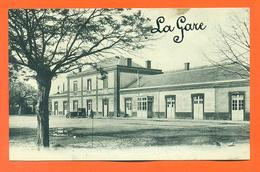 """CPA Pamiers """" La Gare """" LJCP 34 - Pamiers"""
