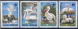 MDW-BK1-050 MDB MINT PF/MNH ¤ ROMANIA 1984 4w In Serie ¤ WWF - BIRDS - ENDANGERED ANIMALS