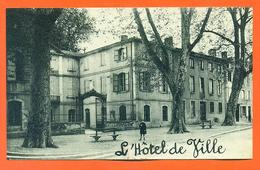 """CPA Pamiers """" L'hotel De Ville """" LJCP 34"""