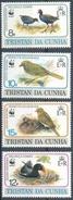 MDW-BK1-051 MDB MINT PF/MNH ¤ TRISTA DA CUNHA 1991 4w In Serie ¤ WWF - BIRDS - ENDANGERED ANIMALS
