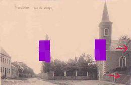 Froidthier ( Thimister Clermont ) Village & Eglise Saint Gilles Cachet Postal 1906 - Thimister-Clermont