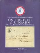 Catalogue De Vente CORINPHILA  N°189 Of May 2014,  OSTERREICH & HUNGARN Collection  Pietro PROVERA , 88 Pages Couleur  - - Catalogues De Maisons De Vente