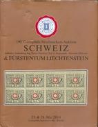 Catalogue De Vente CORINPHILA  N°190 Of May 2014,  SUISSE SCHWEIZ & LIECHTENSTEIN Collection  Pietro PROVERA , 320 Pages - Catalogues De Maisons De Vente