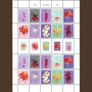 Sint Maarten 2015, Flowers 10valx2 In Sheetlet