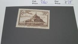LOT 343944 TIMBRE DE FRANCE NEU* N°260