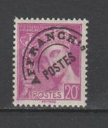 FRANCE / 1938-1942 / Y&T Préo N° 78 ** : Mercure 20c Lilas - Gomme D´origine Intacte