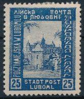 Poland Stamp Luboml Luboml Hinged 1918 Mi IV Building WS223097