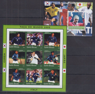 B32 Guinea-Bissau - MNH - Sports - Football - Imperf - Fussball