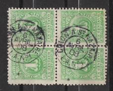 A508.-. KOLUMBIEN .1903 . MI#: 210 - USED BLOCK - NICE PAQUEBOT CANCEL. USED PANAMA- COLON A ST. NAZARIE 6-AVR-08 L.A. 1