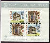 Portugal ** Bloc N° 23 - Europa. Monuments -