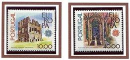 Portugal ** N° 1383/1384 - Europa. Monuments
