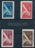 Poland Stamp Back -Occupied Areas Set MNH 1948 Mi 493-496 WS234391