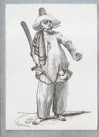 CPM - Illustration - Pulainella Acteur Napolitain - Gravure Sur Bois XIXe S. - Illustrators & Photographers