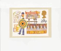 Postcard - Royal Mail - British Fairs - Side Shows - VG - Postcards