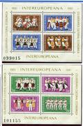 Roumanie ** Blocs N° 148/149 - Collaboration économique Et Culturelle (Danses Folkloriques) -