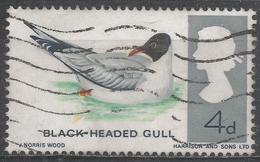 Great Britain 1966. Scott #461p (U) Blackheaded Gull, Bird * - 1952-.... (Elizabeth II)