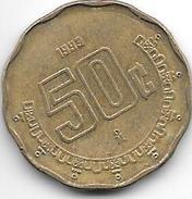 Mexico 50 Centavos 1993   Km 549  Xf+ - Mexico