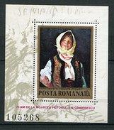 """Roumanie ** Bloc N° 157 - """"Joyeuse Paysanne"""" Du Peintre N. Grigorescu -"""