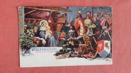 Three Wise Men, Baby Jesus & Mary  Wesolych Swiat    - Ref --2495 - Christianity
