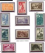 (CL. 98 Bis) Roumanie ** N° 774 à 784 - Commémoration De La Libération De La Transylvanie Du Nord -