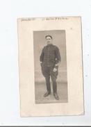GRENOBLE (ISERE) CARTE PHOTO MILITAIRE DU 6 EME REGIMENT D'ARTILLERIE 1913 - Grenoble