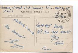 CP Syrie Trésors Et Postes 30/6/1923 (615)  Militaire 2ieme Cie Méharist V.Lyon France PR4074 - Marcophilie (Lettres)