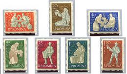 (CL. 98 Bis) Roumanie ** N° 1748 à 1754 - La Viticulture -