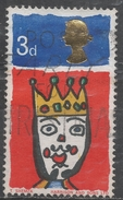 Great Britain 1966. Scott #478p (U) Christmas, King * - 1952-.... (Elizabeth II)