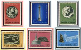 (CL. 98 Bis) Roumanie **, Ob N° 2901 à 2906 - Année De La Protection Des Monuments -