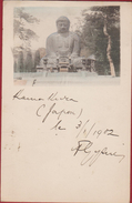 1902 The Great Buddha Of Kamakura Kōtoku-in Kanagawa Daibutsu Japan Japon To Anwerp Belgium - Yokohama