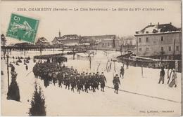 CHAMBERRY (73) - LE CLOS SAVOIROUX - LE DEFILE DU 97E D'INFANTERIE - Chambery