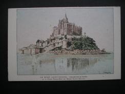 Le Mont Saint-Michel Face Nord-Est Du Mont Saint-Michel