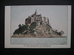 Le Mont Saint-Michel Face Nord-Ouest Du Mont Saint-Michel