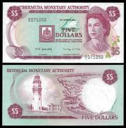 Bermuda 5 DOLLARS 1981 P 29b UNC BERMUDES, BERMUDAS - Bermudas